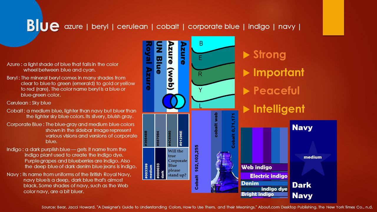 Colors on emotions presents ppt video online download blue strong important peaceful intelligent biocorpaavc Choice Image