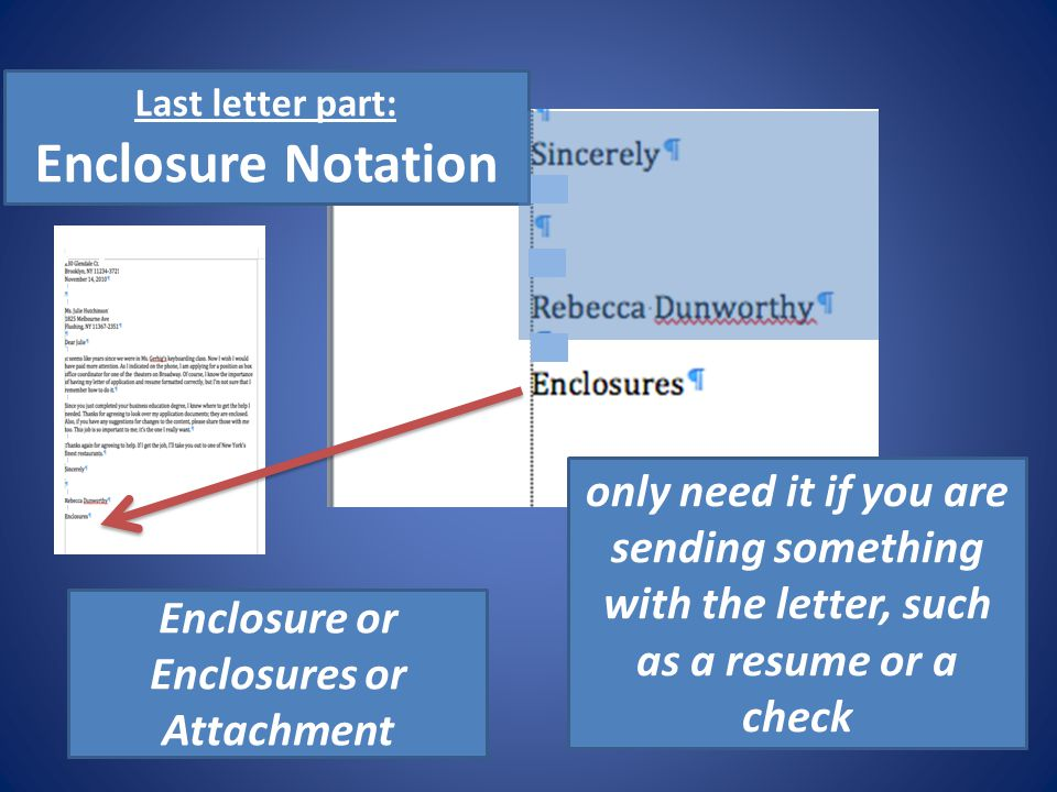 personal business letters ppt video online download