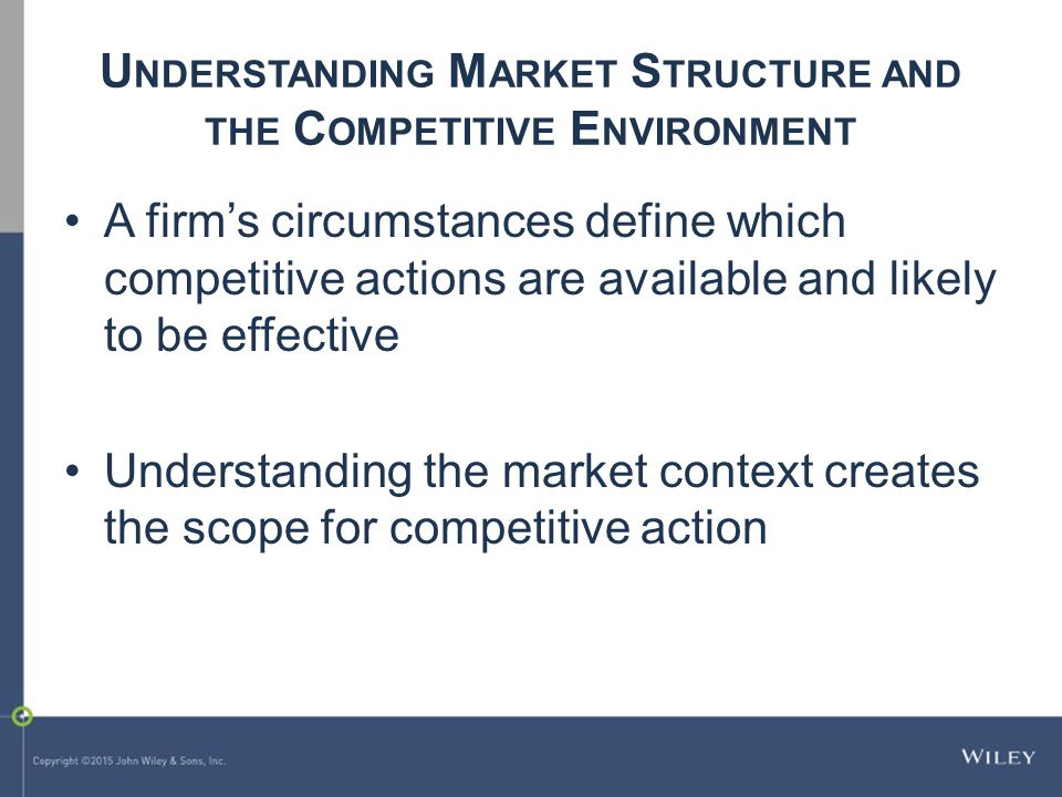 understanding market structures essay Learning to read the charts starts by understanding the market structure using the triangle approach of trend & momentum, support & resistance and patterns is vital for learning to read technical.