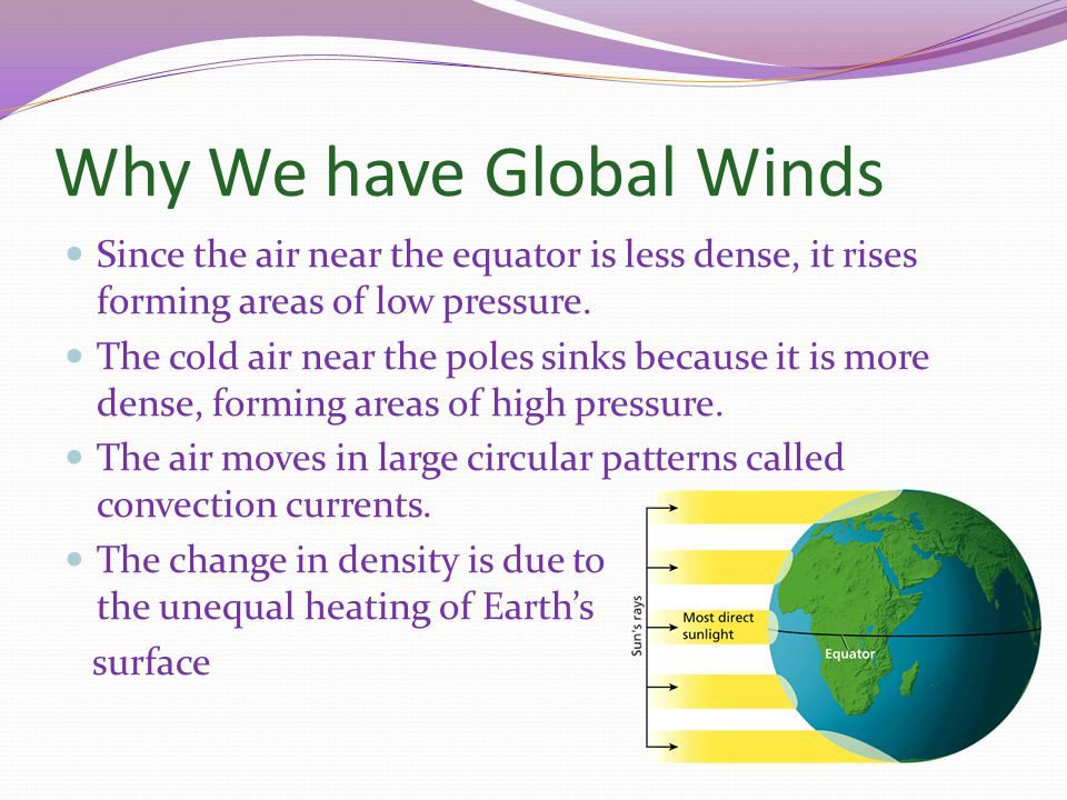 Why We have Global Winds