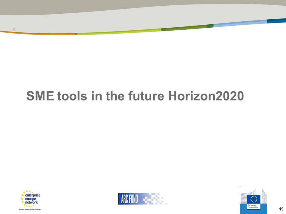 SME tools in the future Horizon2020
