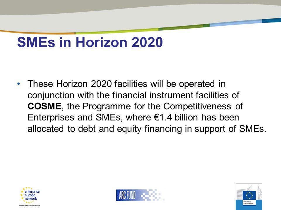 SMEs in Horizon 2020
