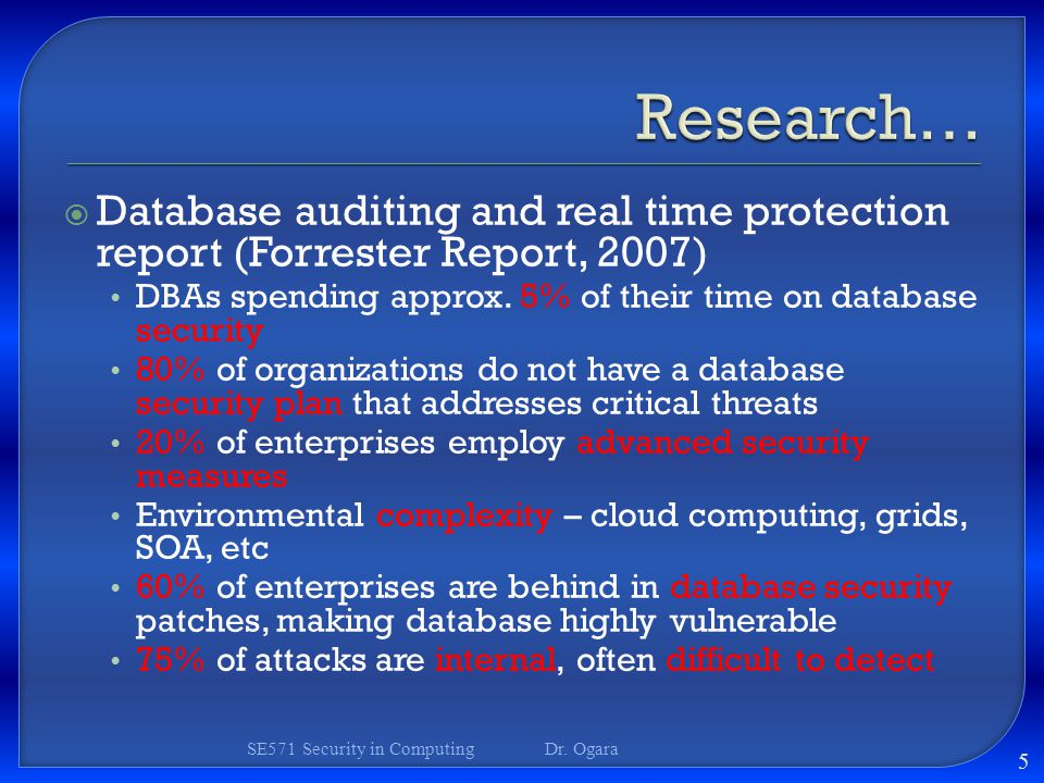 research database The charter of the database group at microsoft research redmond is to increase the usefulness of database system technology to users by creating, extending, and applying database technology to that end, we consult with product groups at microsoft and take part in exploratory research projects in .