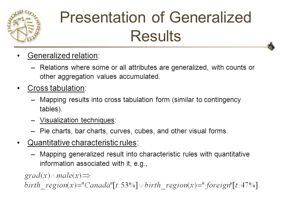 CS490D: Introduction to Data Mining Prof. Chris Clifton - ppt download