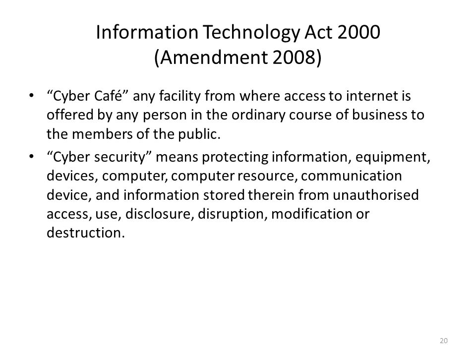 Information Technology Act, 2000