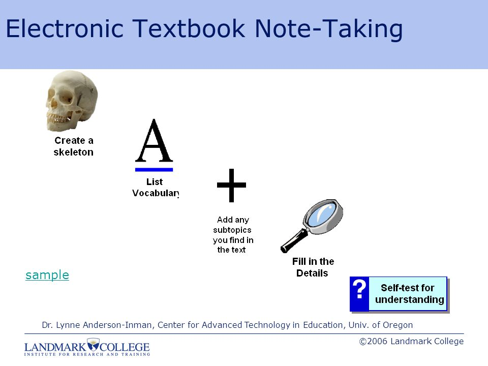 Strategies for Note-taking and Retaining Information - ppt download