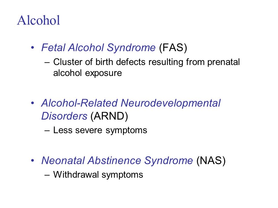 the characteristics of fetal alcohol syndrome a birth defect O the facial characteristics unique to alcohol teratogenesis occur around the third   fas is considered to be a leading preventable cause of birth defects in the.