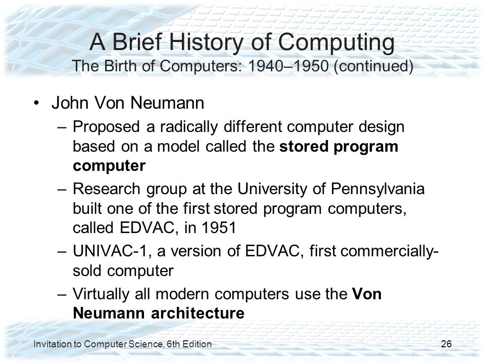 brief history of computers We are living in the computer age today and most of our day to day activities  cannot be accomplished without using computers sometimes.