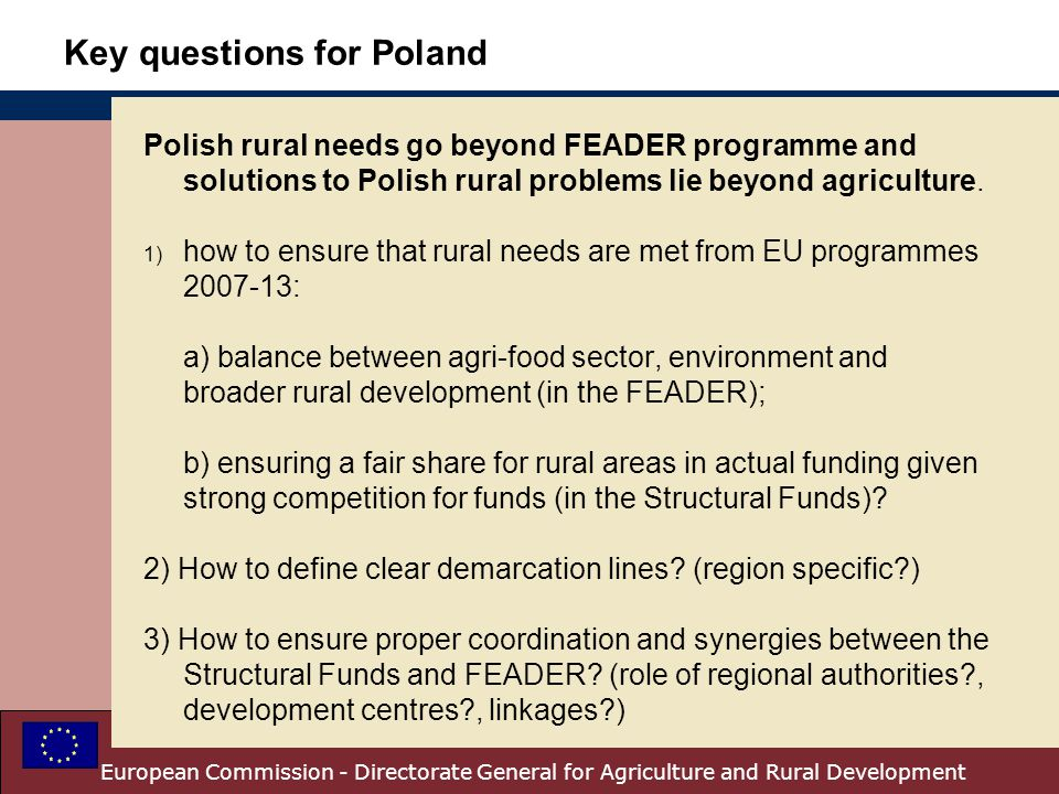 Key questions for Poland