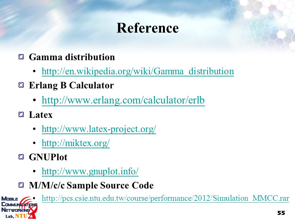 Reference   Gamma distribution