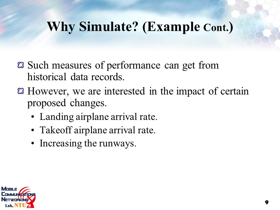 applications of discrete event simulation