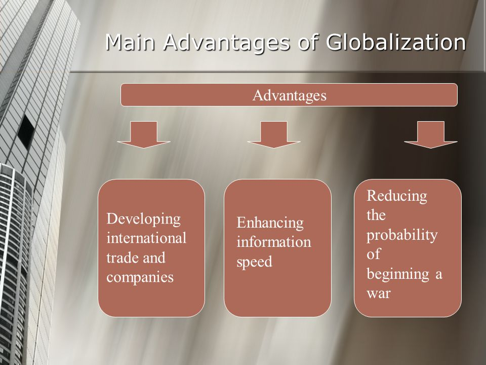 advantages and disadvantages of globalization and international trade 14 advantages & disadvantages of international trade  discuss the advantages and disadvantages of globalization the world as we know it has evolved over the years .