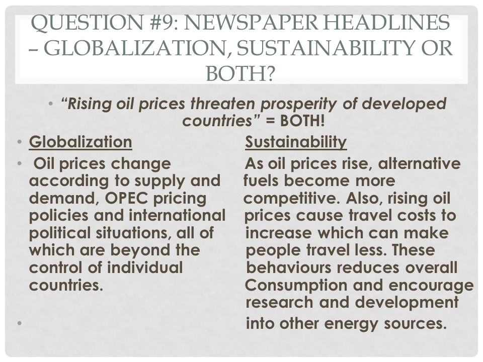 the effect of globalization on less developed countries Globalization and its challenges  others relate to non-economic, but no less important,  developed countries.