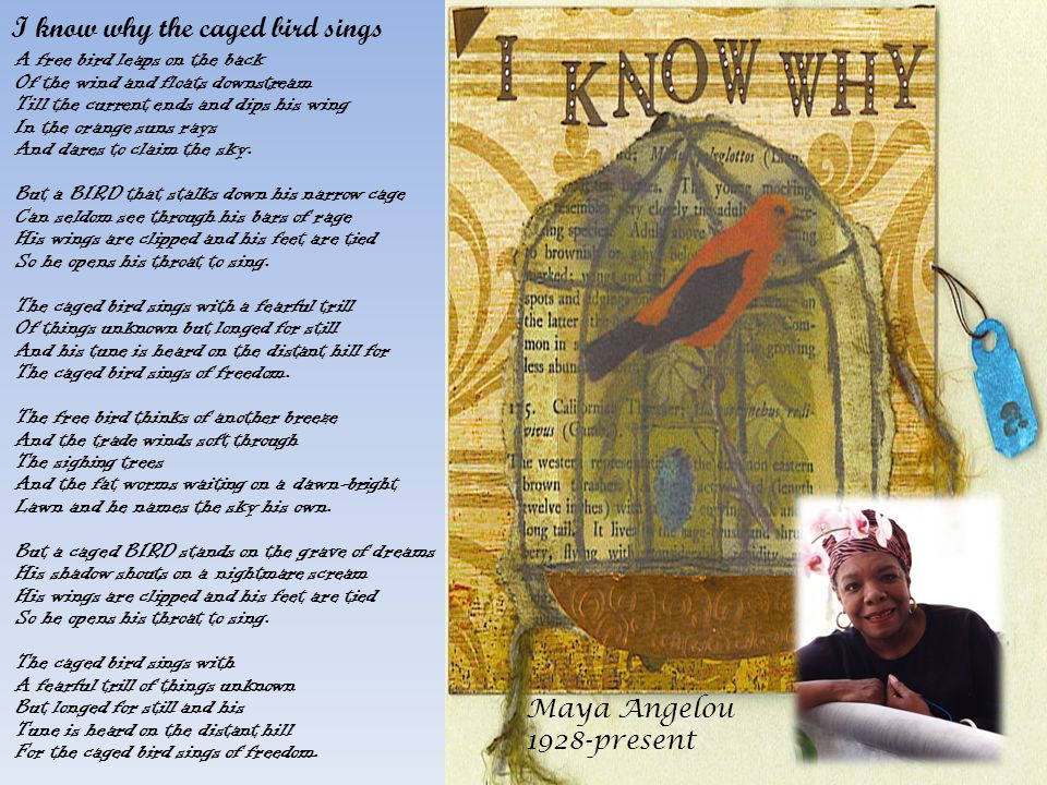 an introduction to the i know why the caged bird sings I know why the caged bird sings is an autobiography written by maya angelou she describes about her hard life caged growing up as a black girl from the south maya angelou starts the novel about her life in the age of.