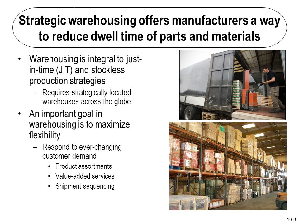 Strategic warehousing offers manufacturers a way to reduce dwell time of parts and materials