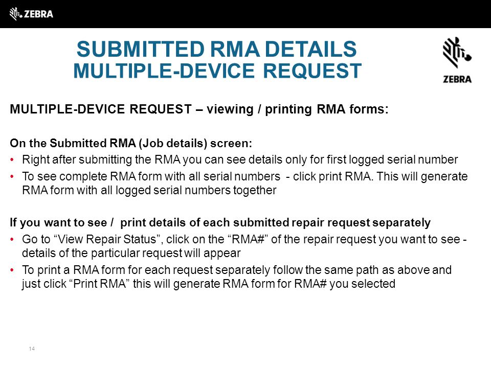 How To Get Started Rma Portal  Ppt Download