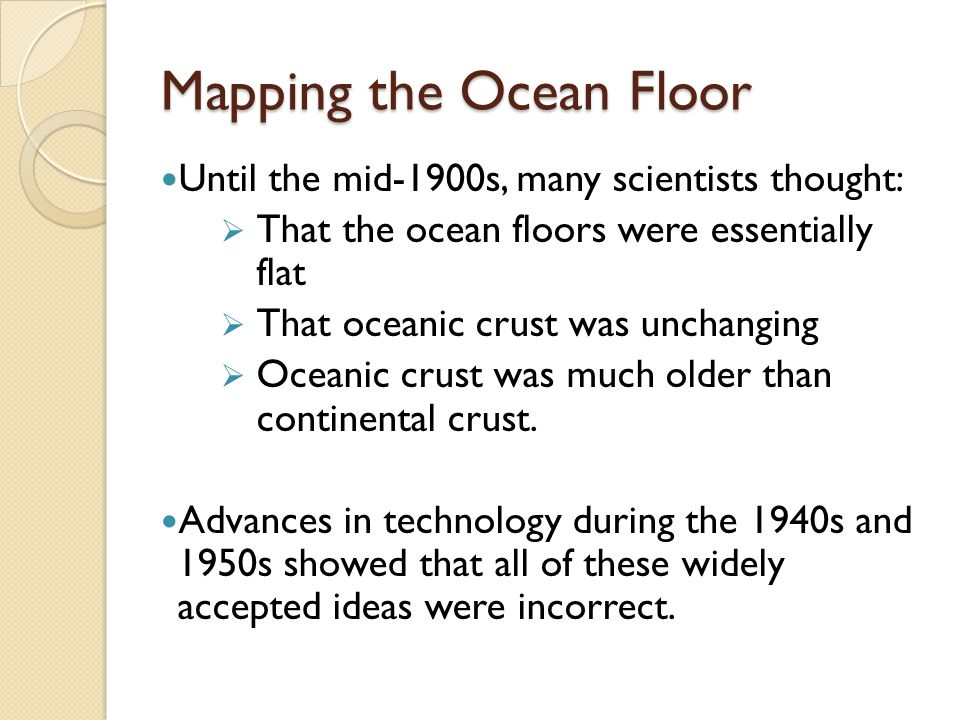 Section 172 Seafloor Spreading ppt video online download – Mapping the Ocean Floor Worksheet