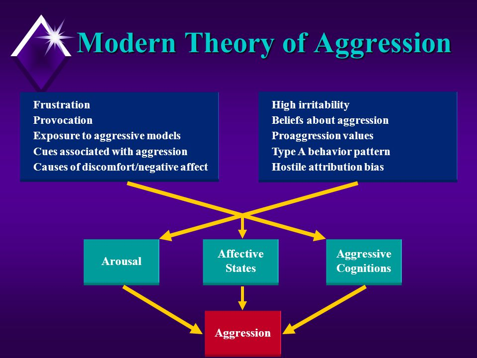 a comparison of the theories of the causes of agression In a revision of frustration-aggression theory,  b is the major cause of social violence  research indicates that in comparison to light viewers,.