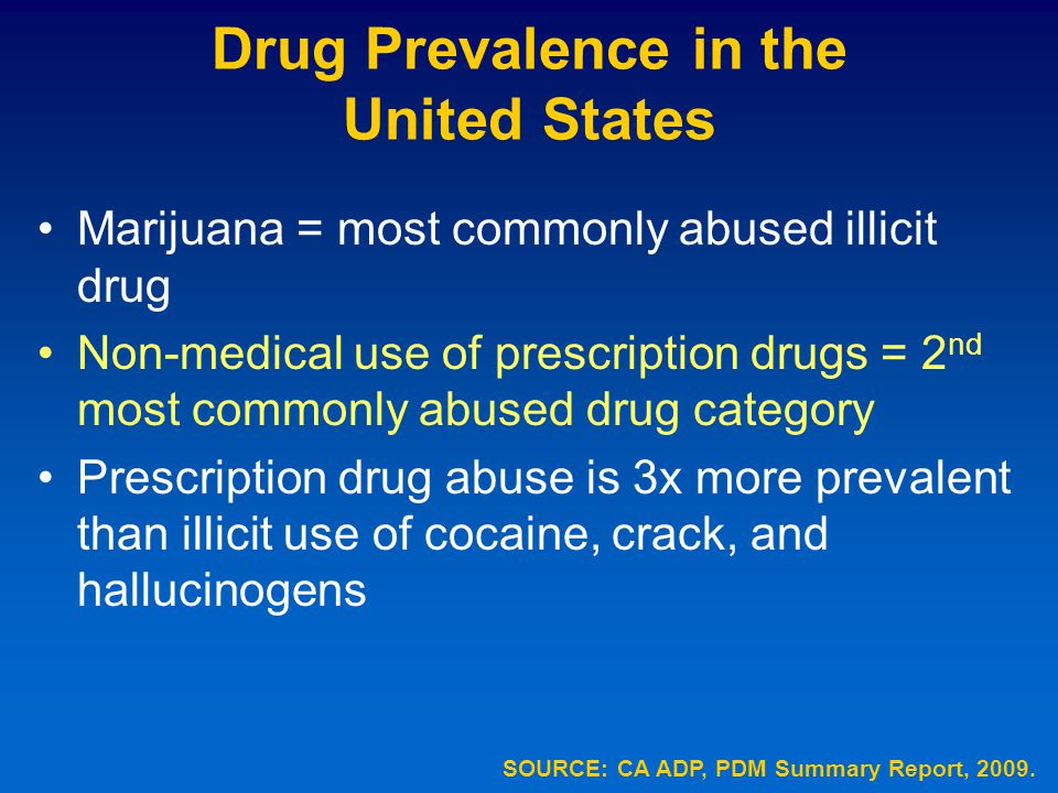 an overview of the issue of drug addictions in the united states Prescription drug abuse is a global problem, and the us is the world's   following the introduction of guidelines for the management of.