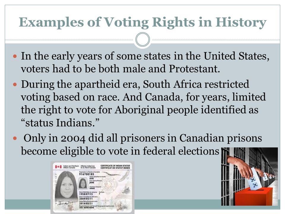 the exercise of the right to vote in the united states 19 historic ads opposing women's suffrage that'll make you sick, make you laugh,  make you think, make you exercise your right to vote  96 years ago today,  august 18, 1920, the united states ratified the 19th amendment to.