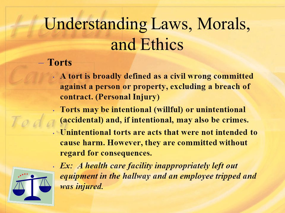 an understanding of morals You can look at moral laws as formalized memes that reflect the moral understanding of those in power within that society the application of ethics is conditional one's understanding of ethics is influenced by the culture and realities of their day, and their ability for introspection.