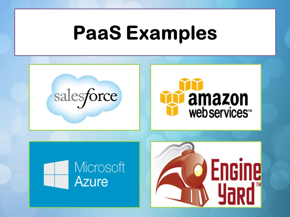 PaaS Examples