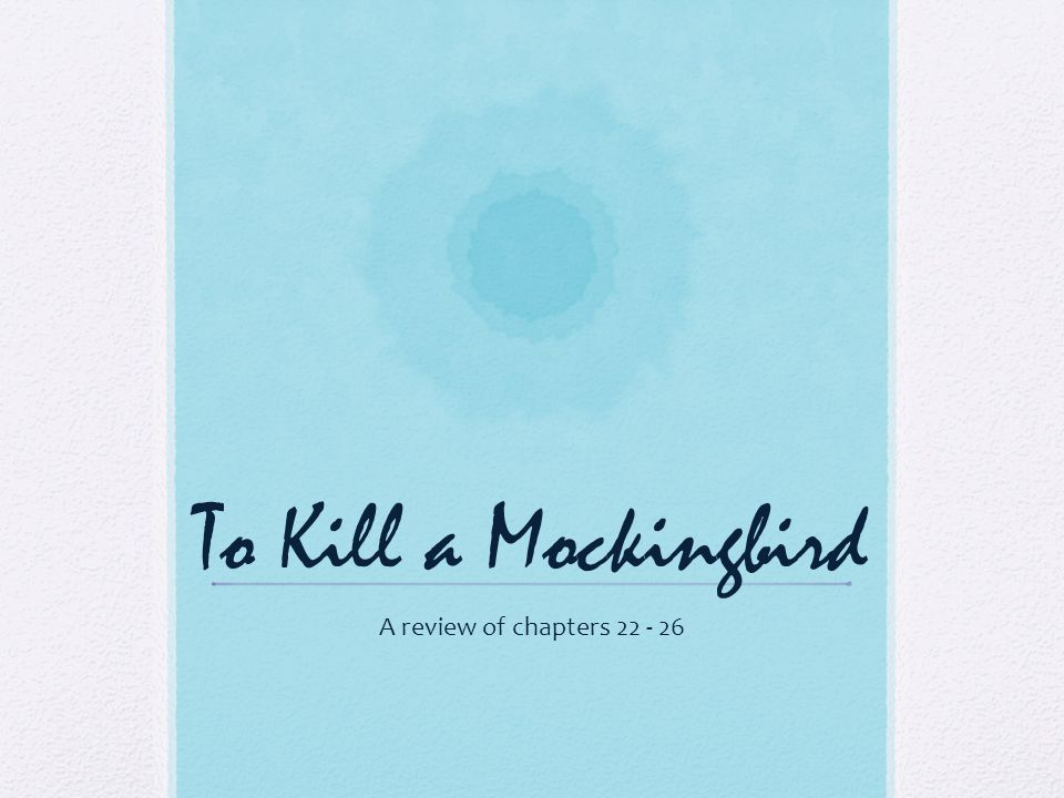 how to kill mocking bird review Find helpful customer reviews and review ratings for to kill a mockingbird at amazoncom read honest and unbiased product reviews from our users.