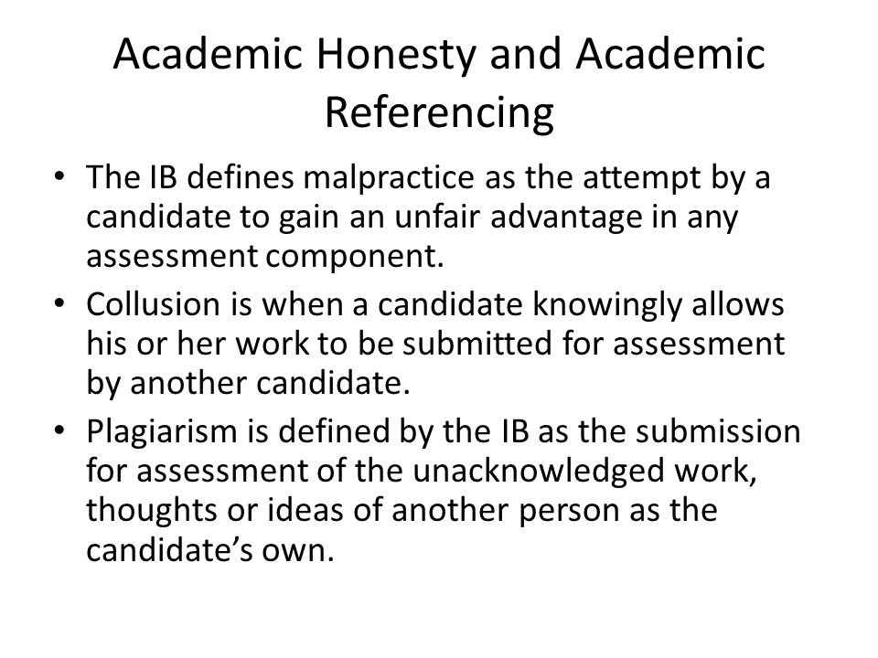 academic honesty 2 essay Plagiarism and academic dishonesty or another public figure was accused of plagiarism many academic honesty policies prohibit the reuse of one's.