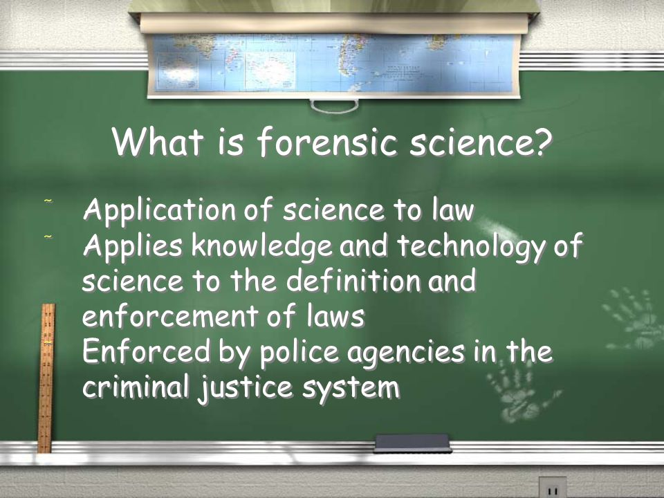 an analysis of the forensic science in application of law A critical analysis of forensic science its relevance and application to the law that the application of forensic science to the law of evidence.