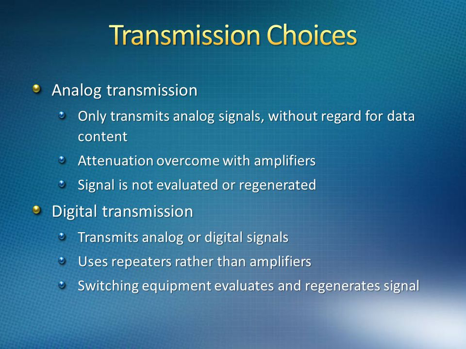 analogue transmission in modern communication systems essay Digital technology essay example  essay on technology management systems essay on the relevance of fair use  technology and the evolution of communication essay.