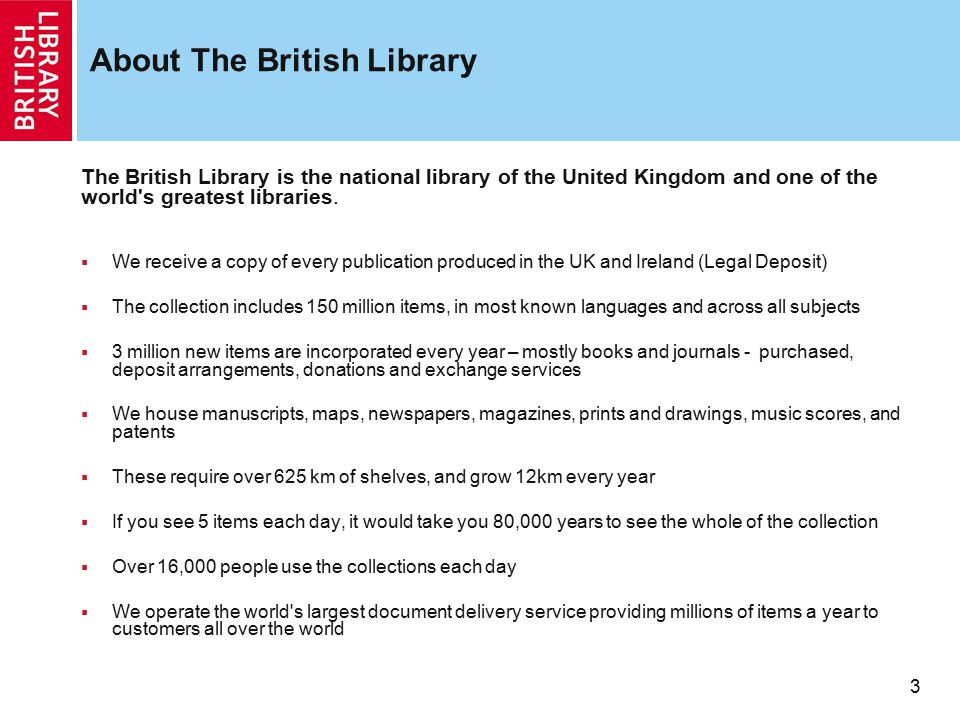 About The British Library