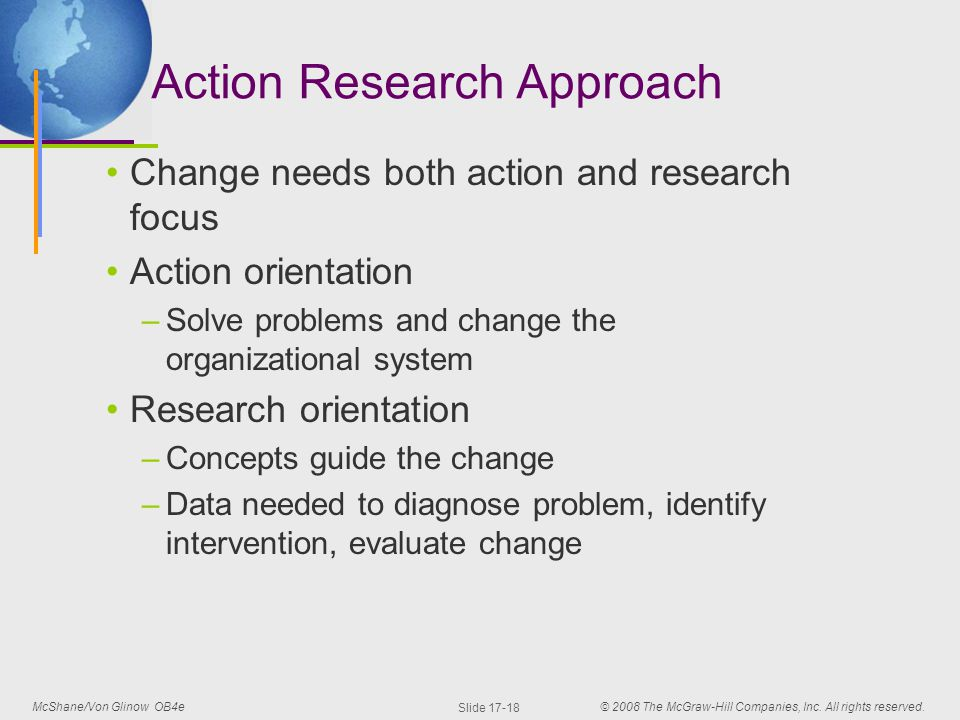 """organizational change research """"employees' reactions to change are influenced by a number of factors it is reasonable to expect employees to react since the process of change involves going from the known to the unknown, and when employees react, it is important to distinguish between the symptoms of their reactions and the causes behind them"""" employees' reactions to organizational change."""
