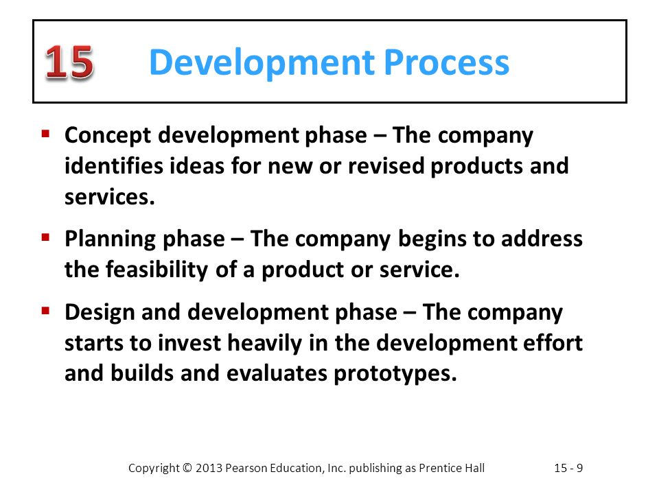 Developing products and services ppt video online download for Product development firms