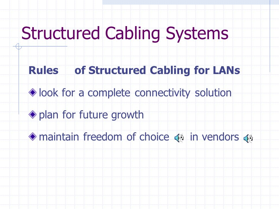 Structured Cabling Systems