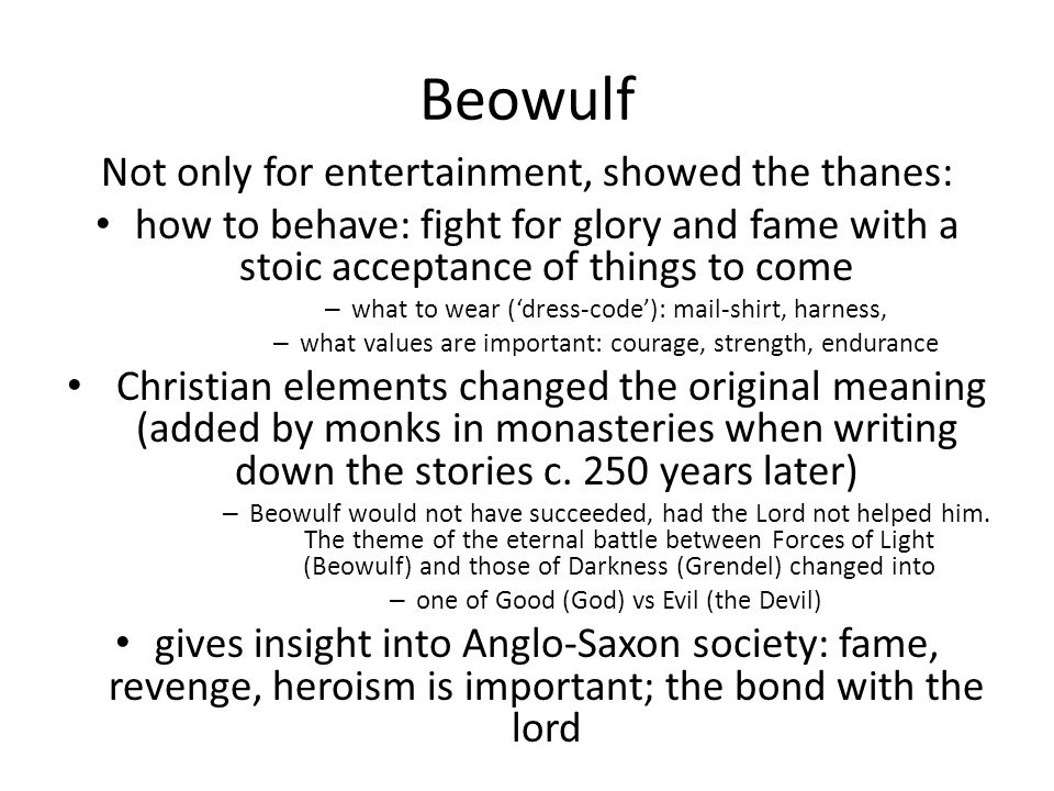 the story of courage nobility and heroism in beowulf In the epic poem 'beowulf', courage is the single most important characteristic of a beowulf hero quotes: courage & bravery in beowulf related study materials.