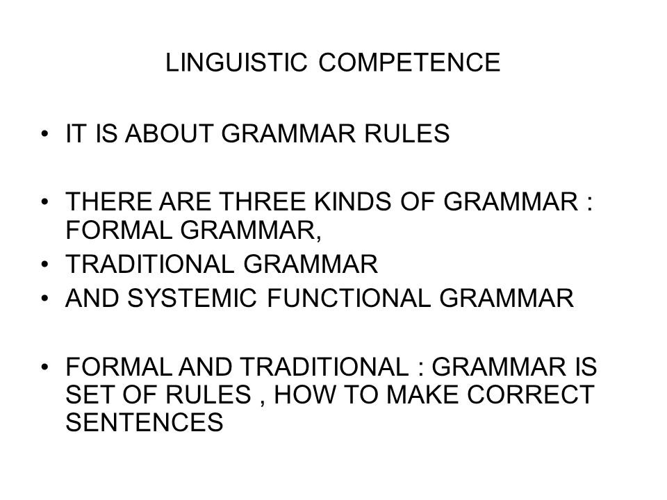the language and linguistic competence english language essay Competence in foreign language writing: progress and lacunae  different  writing styles have different linguistic characteristics, but there is also  compare  to english because there are obvious differences in the structure of essays.