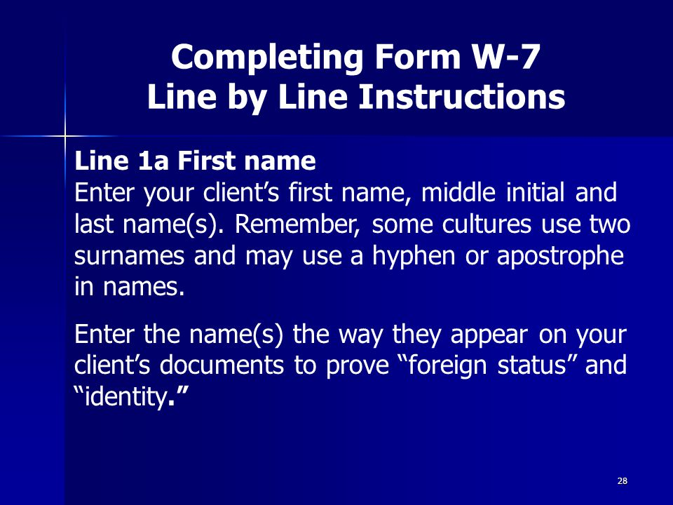 Form W7 Instructions Ibovnathandedecker