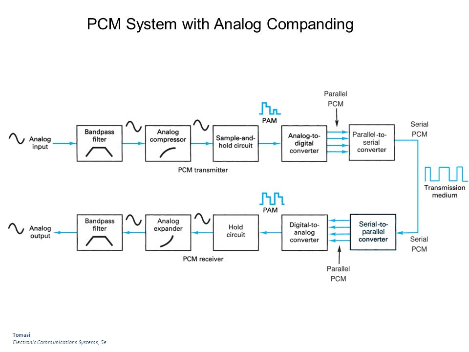 PCM System with Analog Companding