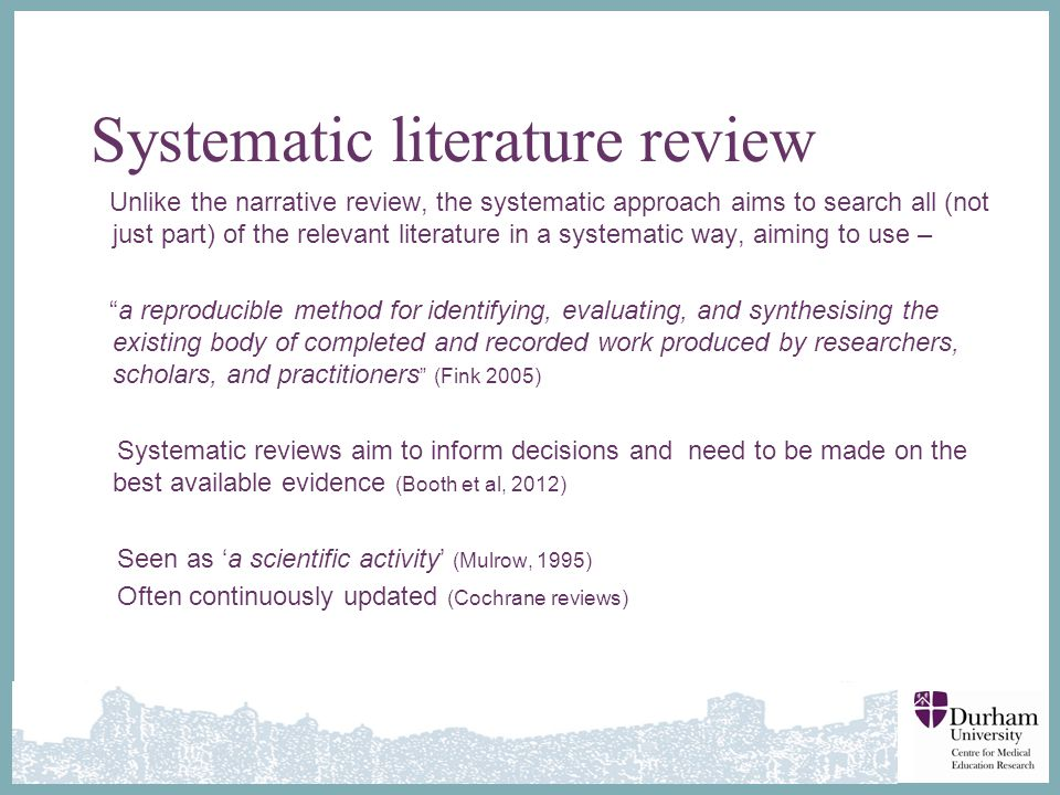 cochrane literature review criteria Posts about narrative review written by hisham md basir subjective weighing of the studies chosen for the review, unspecified inclusion criteria there are four methods in conducting literature review, ie narrative review.