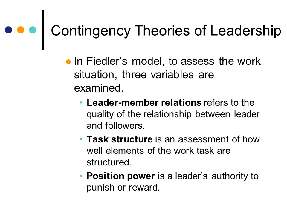 industrial psychology relationship of leadership I/o psychology is the scientific study of human behavior in the workplace  error,  often due to failures in leadership, team coordination and decision-making.