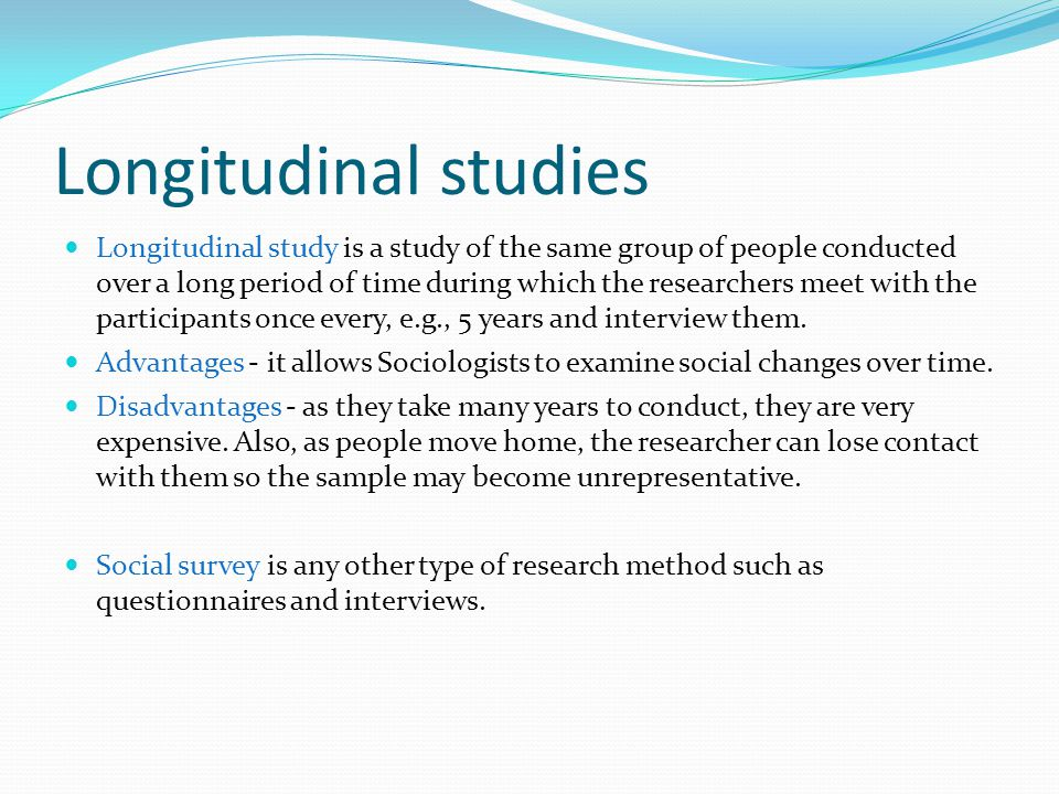 Pros and Cons of Longitudinal Studies - Vision Launch