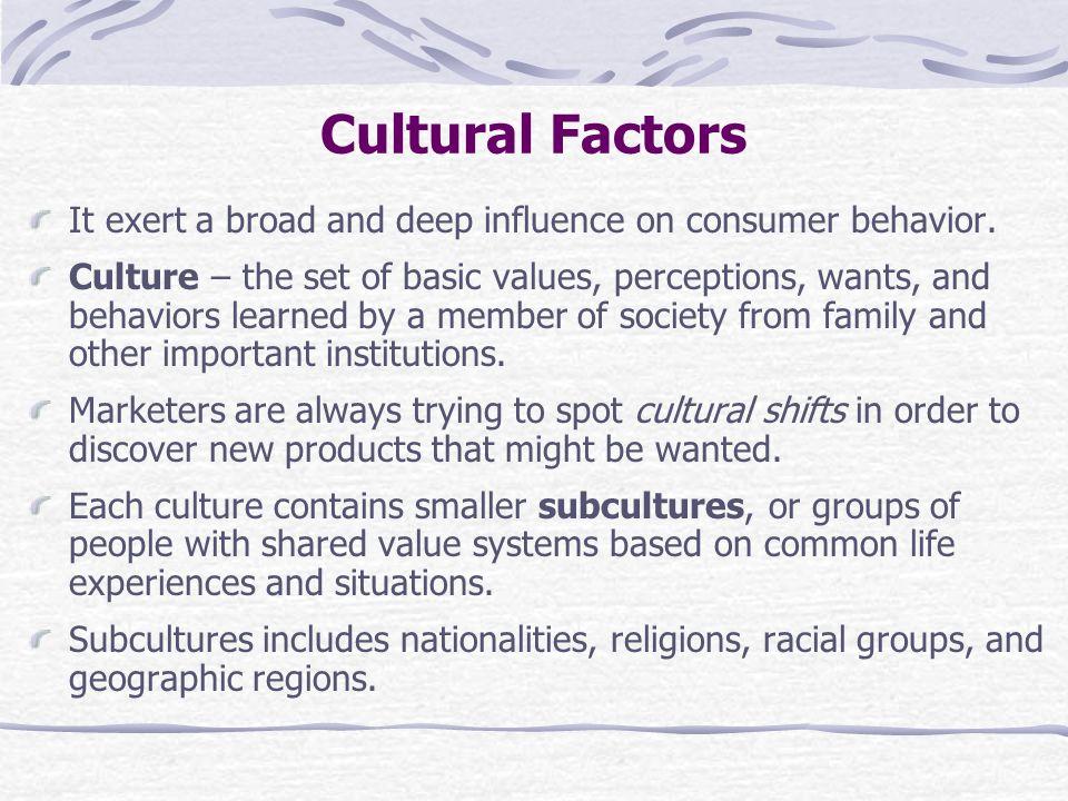 culture buying behavior in malaysia