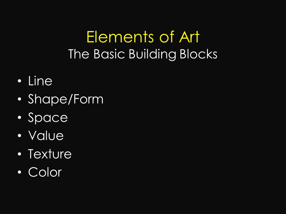 Basic Elements Of Art : Photography composition ppt video online download