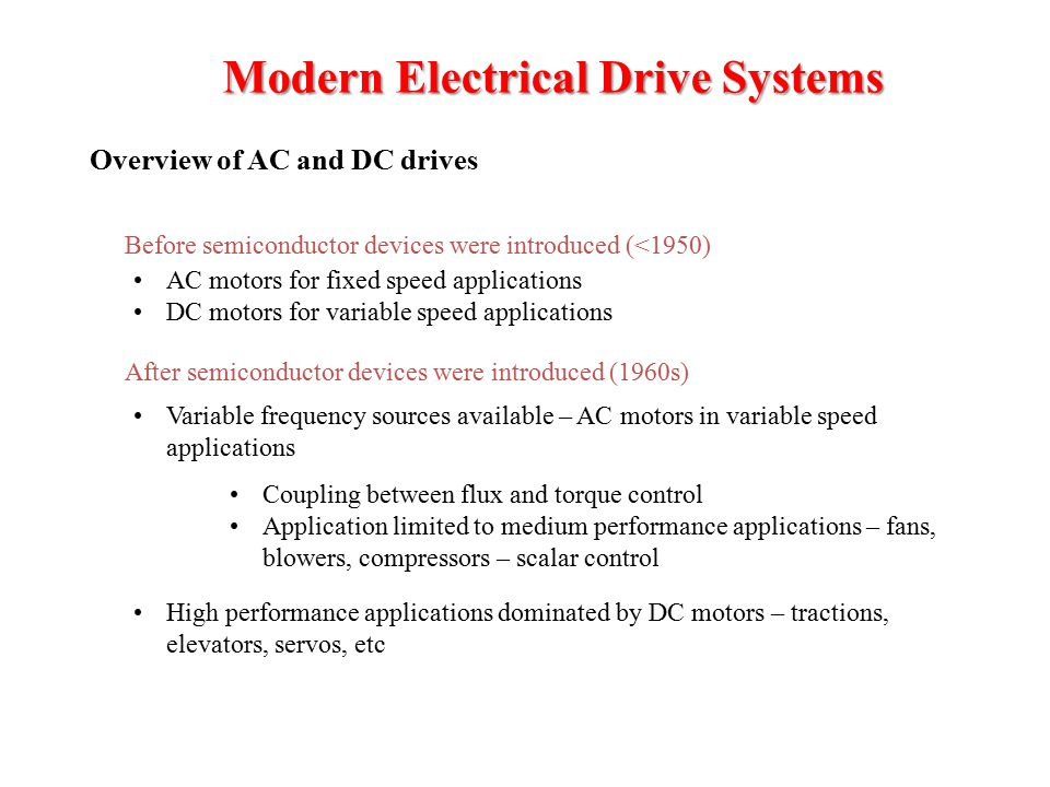 Power electronics eng mohammed alsumady epe 550 electrical for Ac dc motors and drives fundamentals