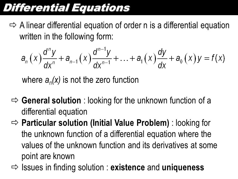 how to solve separable equations