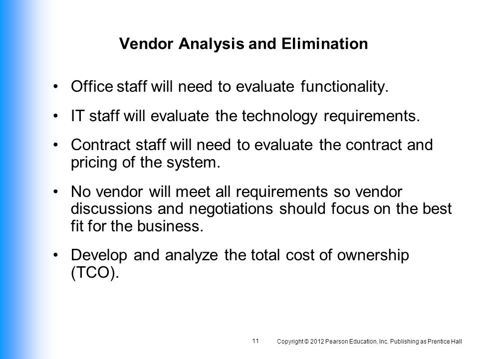 Software And Vendor Selection - Ppt Video Online Download