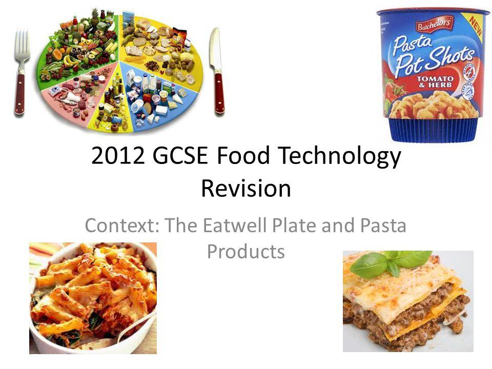 food tech gcse coursework