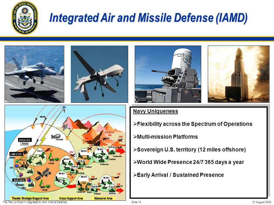 The Navy Update And Role In Integrated Air And Missile