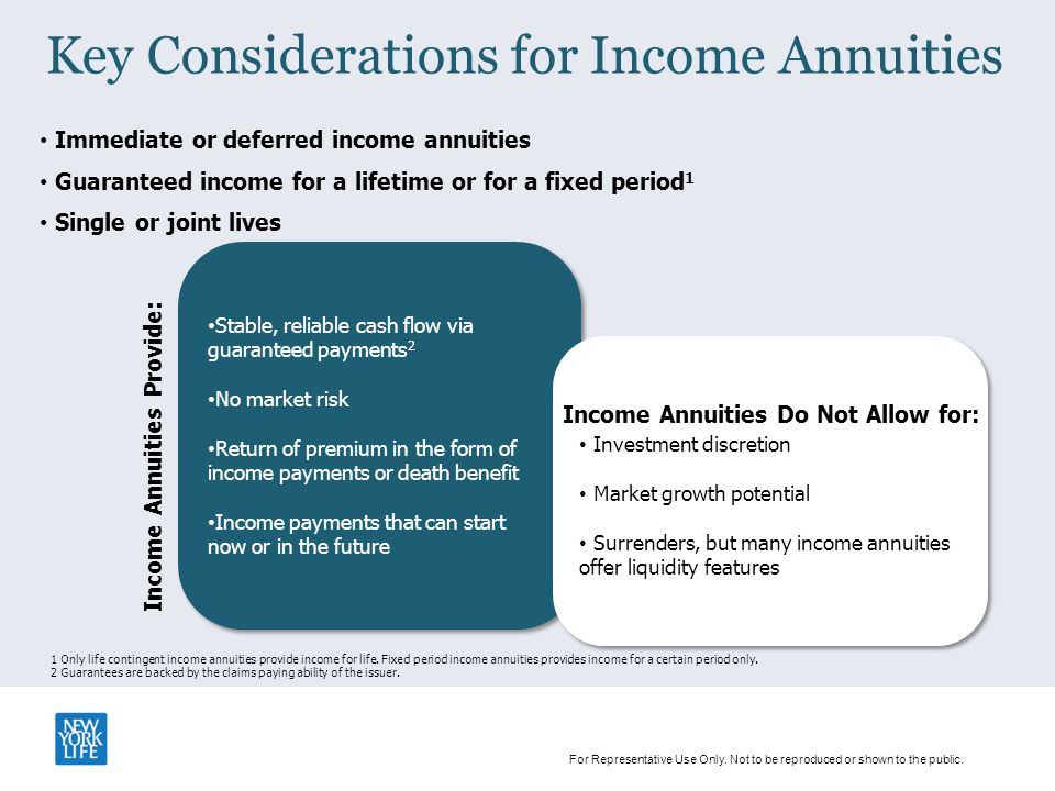 Guaranteed Income Annuities Ppt Download