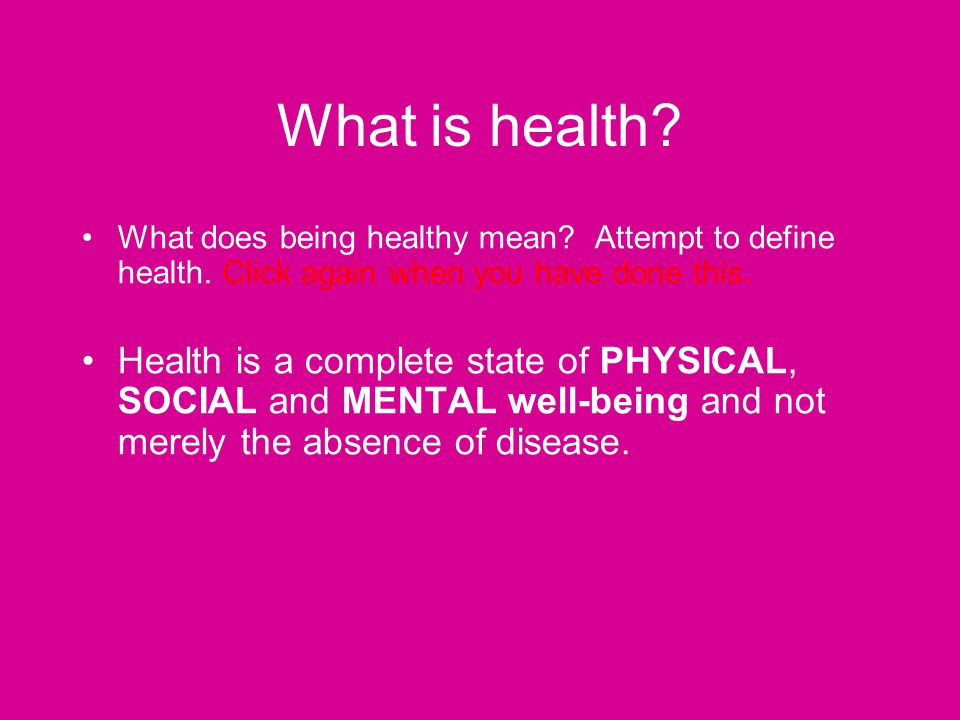 what does health means to you Wellness to me includes 5 dimensions that create and define our health it is not only physical, but its mental, intellectual, spiritual, and social although there are 5 dimensions everyone will interpret each different and incorporate different levels of each for example, physical and mental are.